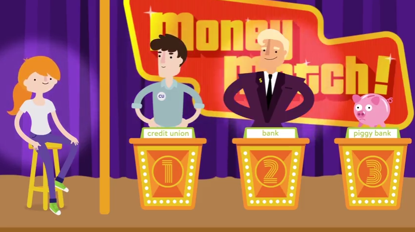 Screen Shot for Choosing Your Financial Institution Video