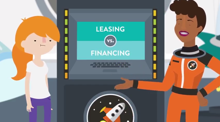 Screen Shot for Leasing vs. Buying a New Car Video