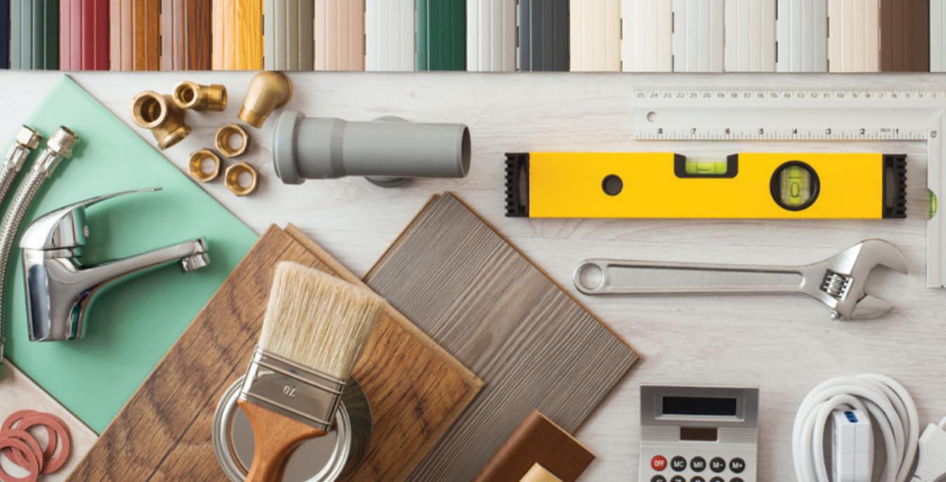 Photo of various home repair tools